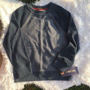 Cherokee by Target Blue Varsity Sweatshirt NEW